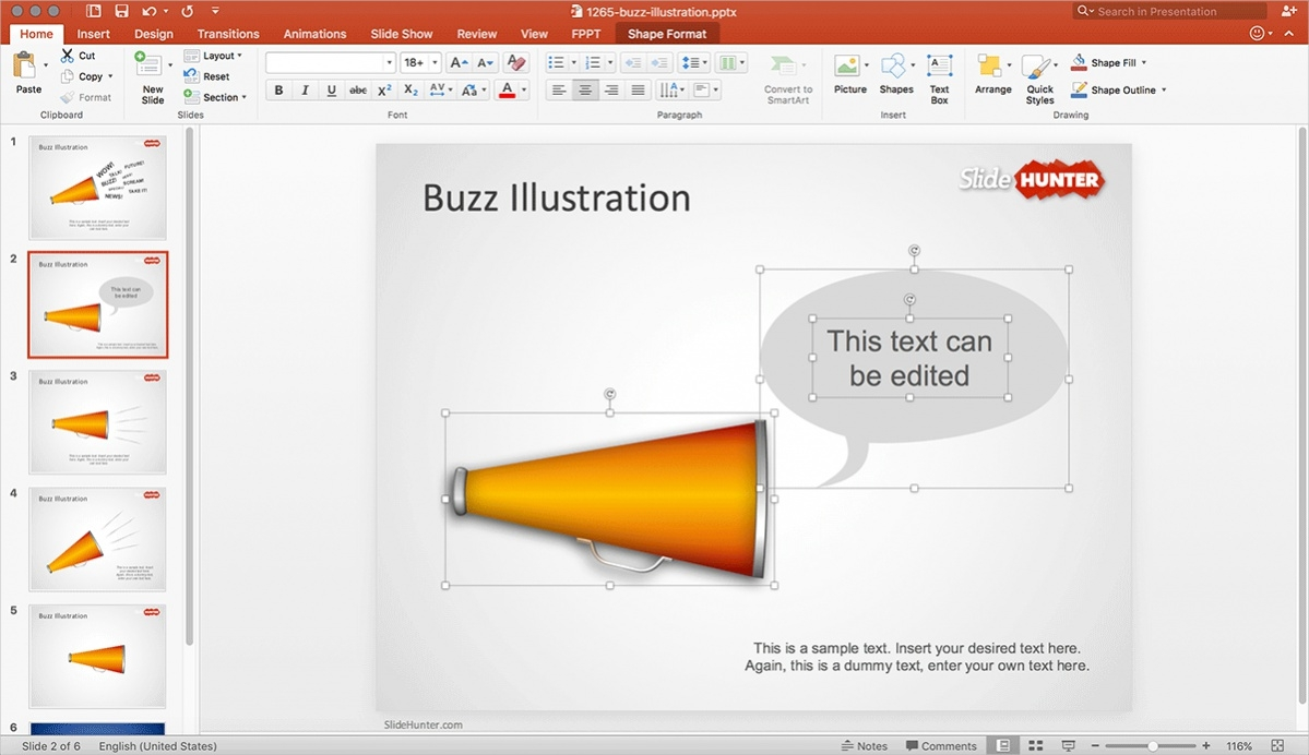 Free Buzz Marketing Presentation