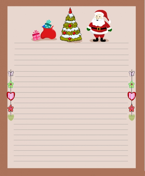 Free Christmas Stationary