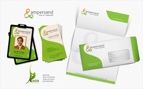 Free Company Branding Design