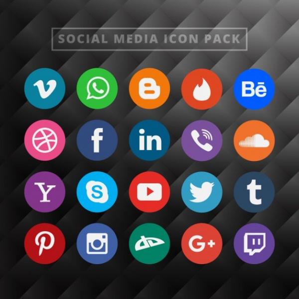 Free Creative Social Media Icons