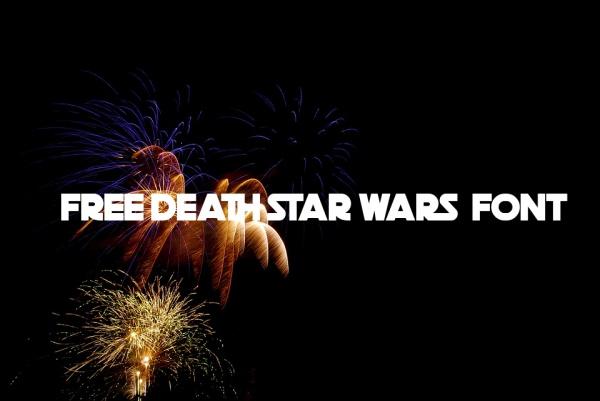 Free Death Star Wars Font