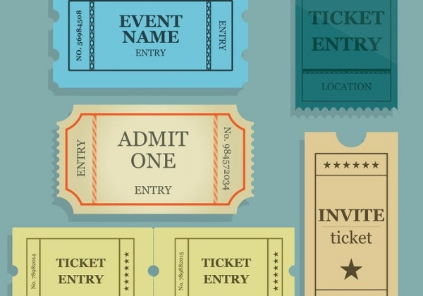 Free Editable Concert Ticket