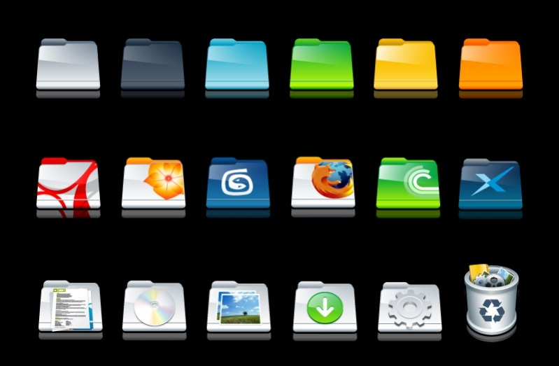 Free Folder Icons Pack