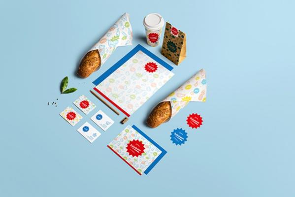 Free Food Branding Design