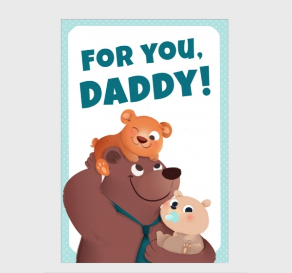 Free Funny Fathers Day Card