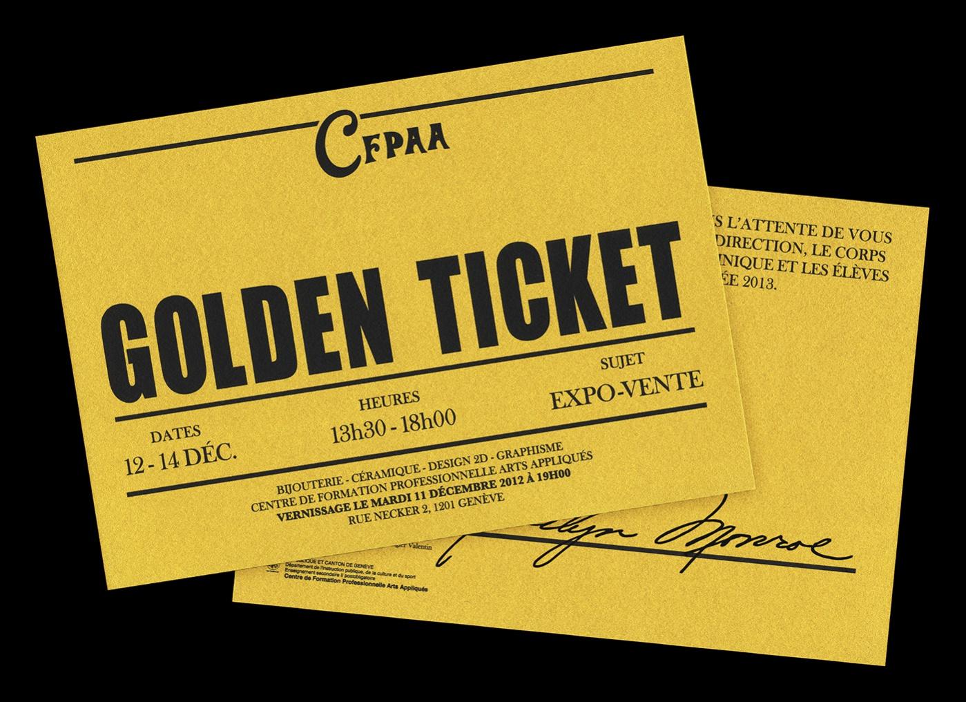Free Golden Ticket