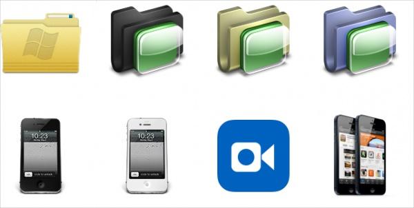 Free IOS Folder Icons