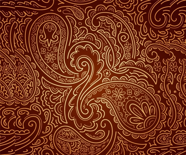 Free Indian Paisley Pattern