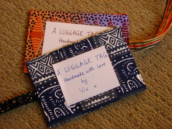 Free Luggage Tag Id Card