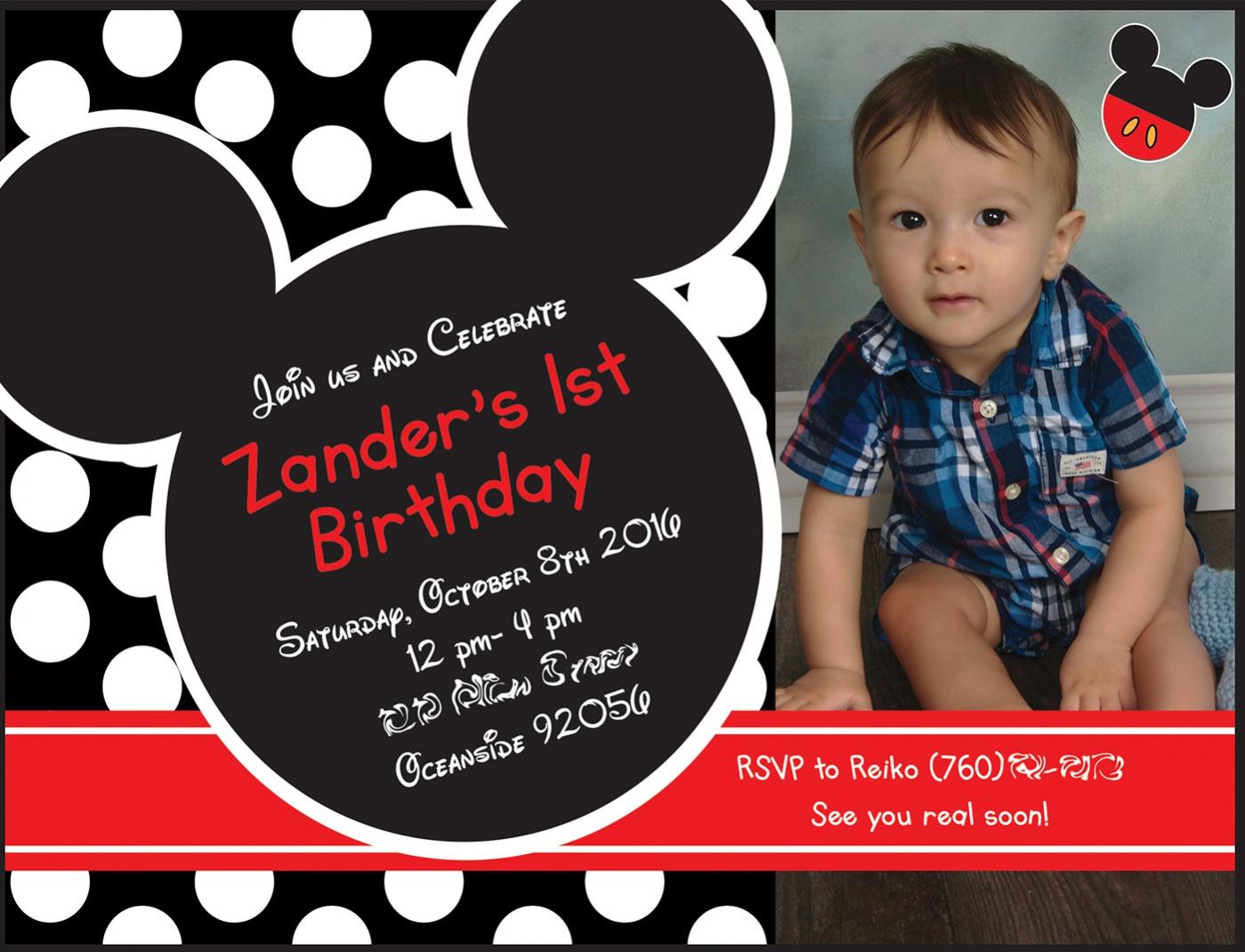 mickey mouse birthday invitations jpg psd ai illustrator mickey mouse birthday invitation