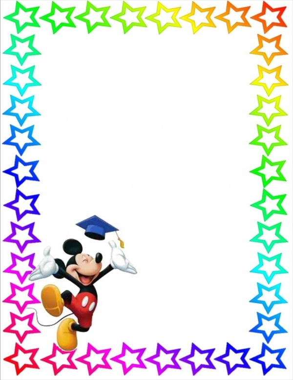 Free Mickey Mouse Stationery