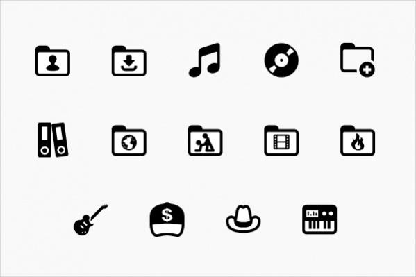 Free Music Folder Icons