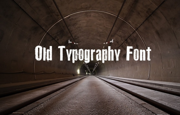Free Old Typography Font