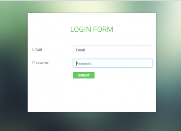 15 free forms psd vector download for Php login templates free download