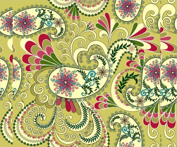 Free Paisley Pattern Design