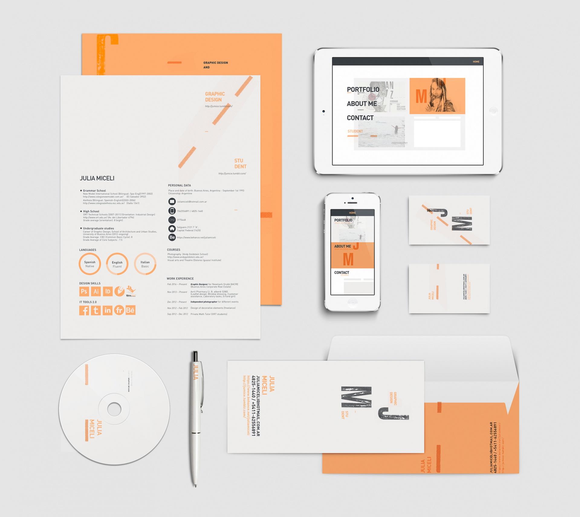 Free Personal Branding Design