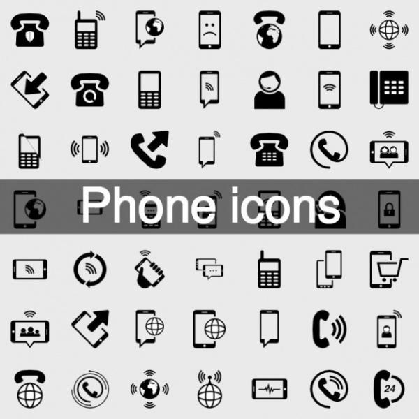 Free Phone Vector Icon