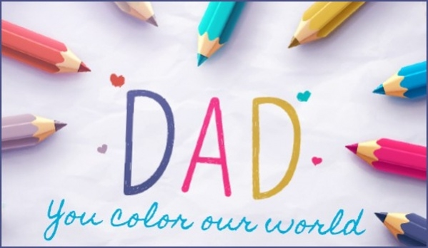 Free Preschool Fathers Day Card