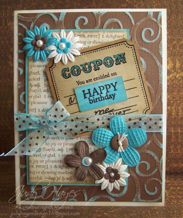 Free Printable Birthday Coupon Design