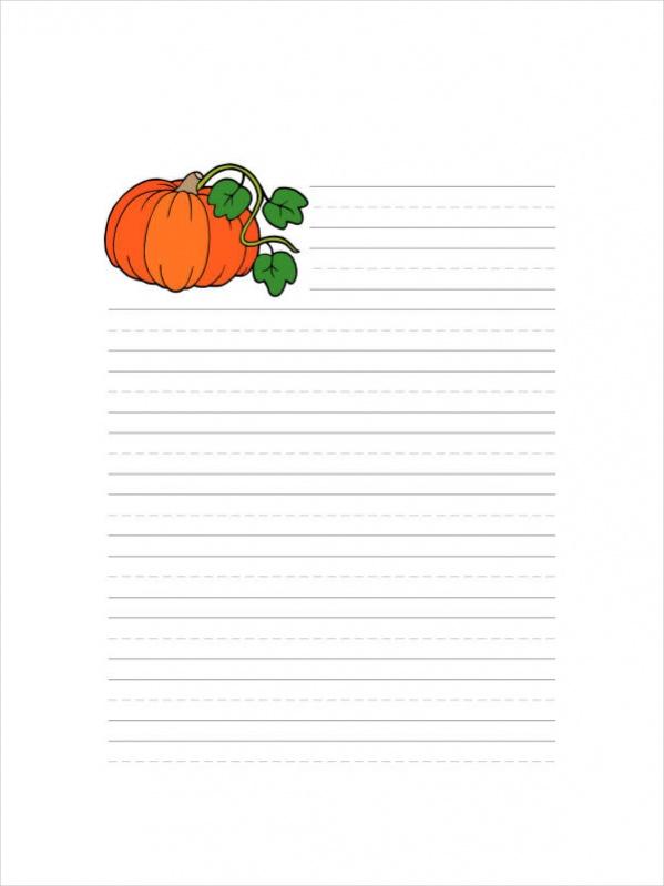 Free Printable Thanksgiving Stationary