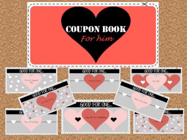 Free Printable Valentine Coupon Design