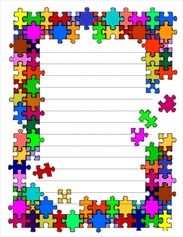 Free Puzzle Stationery