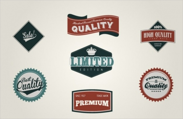 Free Retro Labels
