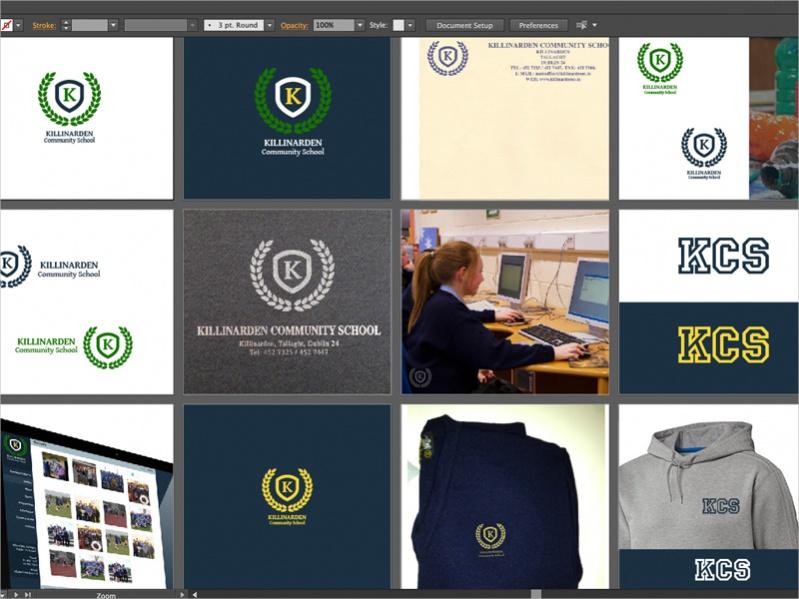 Free School Branding Design