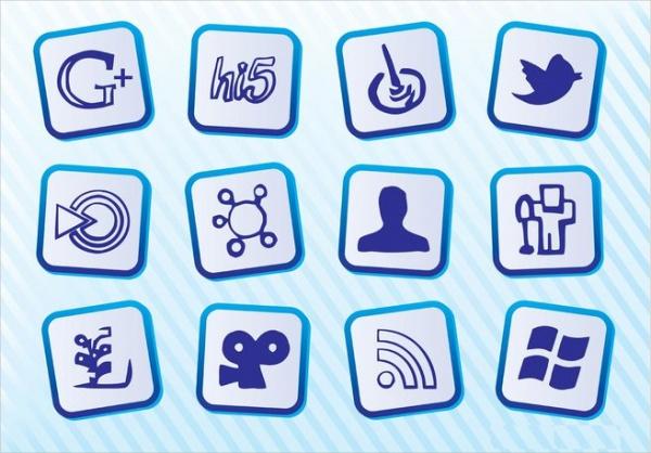 Free Social Media Pixel Icons