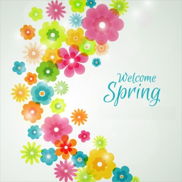 Free Spring Flower Background
