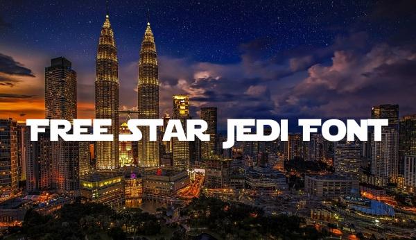 Free Star Jedi Font