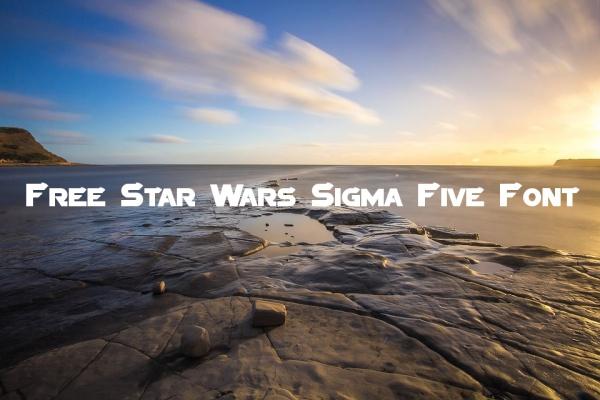 Free Star Wars Sigma Five Font