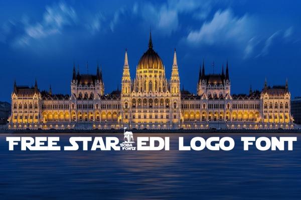 Free StarJedi logo Font