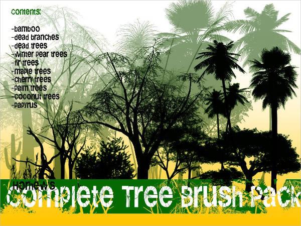 Free Tree Brush Pack