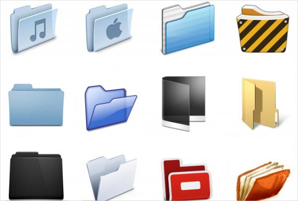 Free Unique Folder Icons