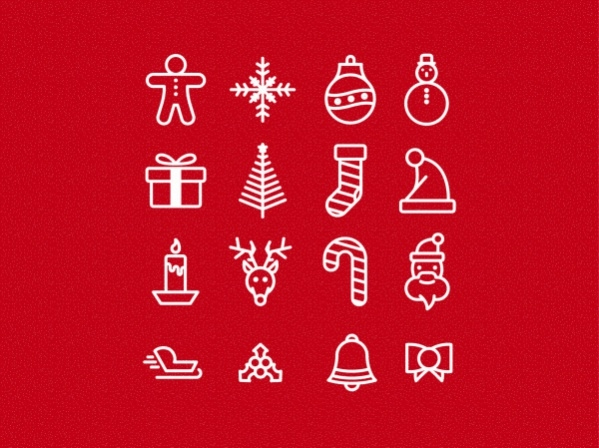 Free Vector Christmas Icons