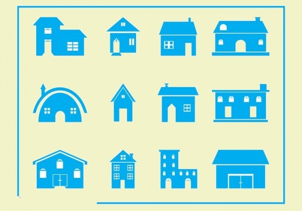 free vector house icon