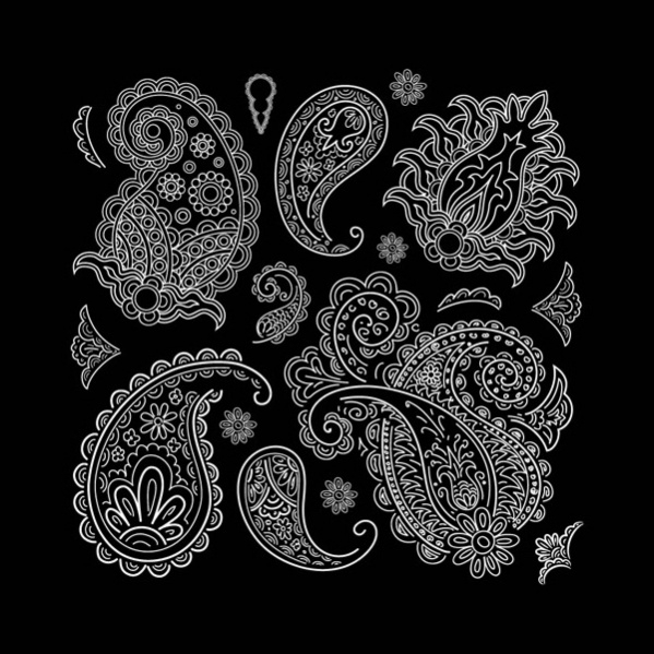 Free Vector Paisley Pattern