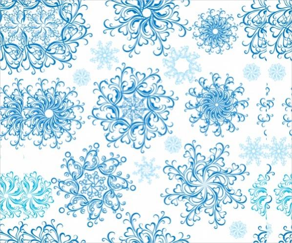 Free Vintage Snowflake Pattern