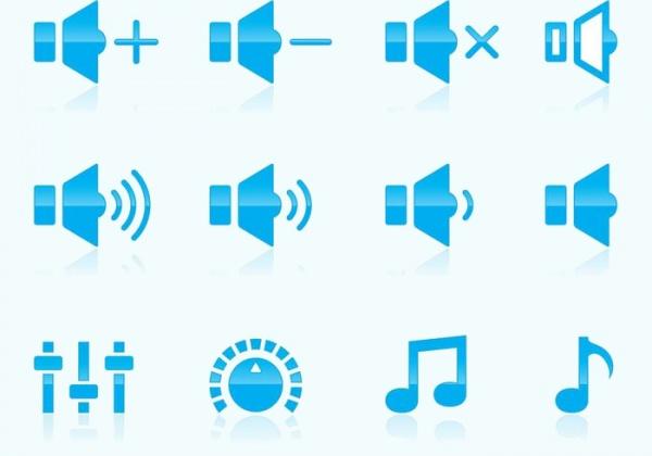 Free Volume Vector Icons