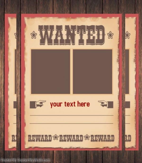 free wanted poster - Free Wanted Poster Template