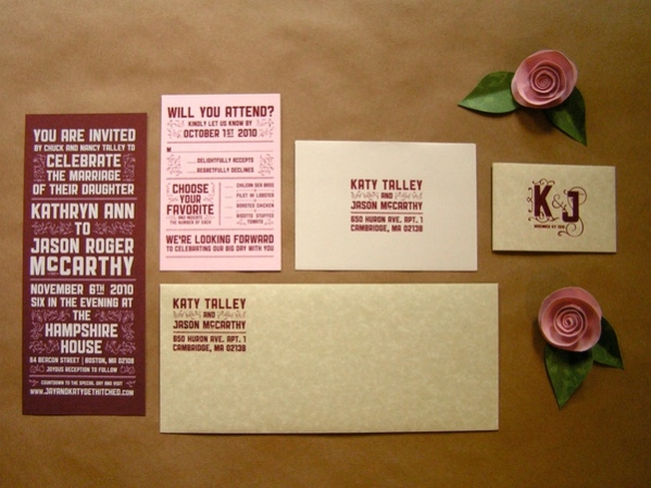 Free Wedding Place Card