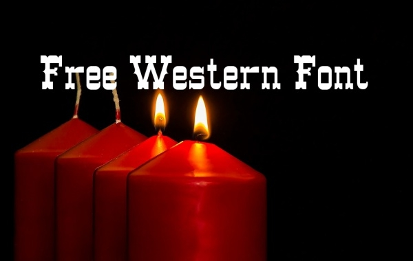 Free Western Font