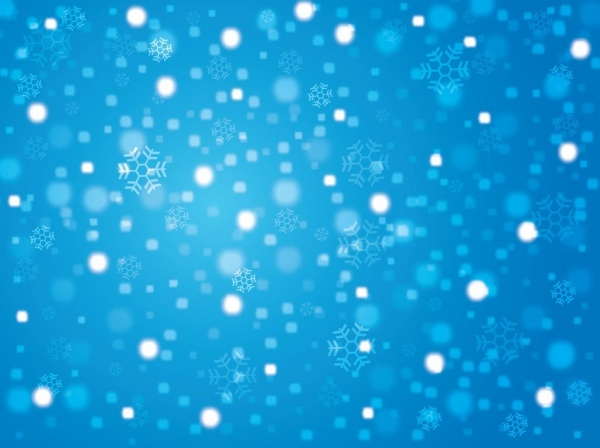 Free Winter Art Background