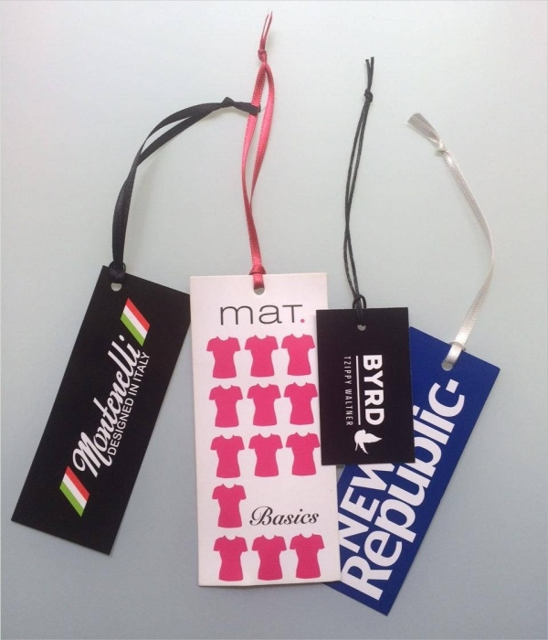 Full Colour Custom Hang Tag