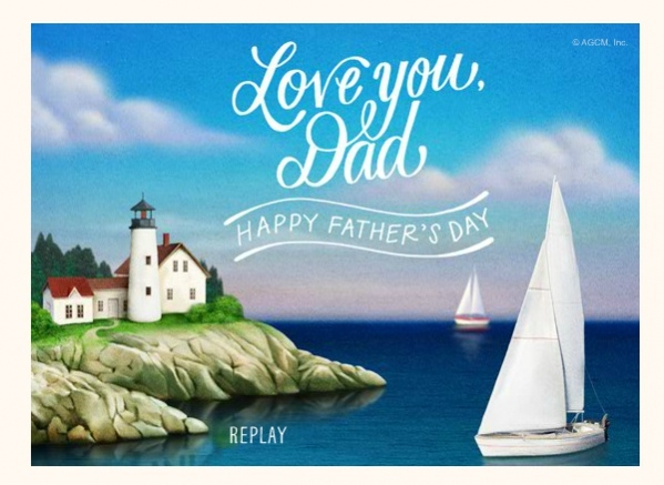 Fully Customized Fathers Day Card