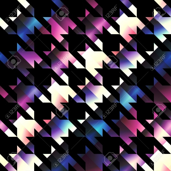 Fully Customized Houndstooth Pattern