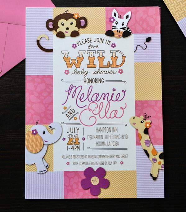 Fully Editable Baby Shower Invitation
