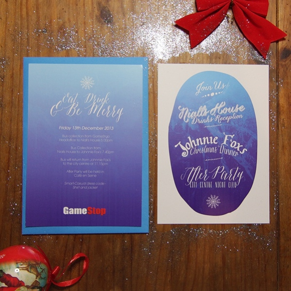 fully editable christmas invitation