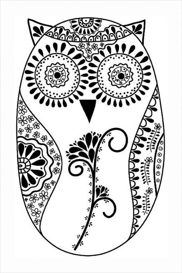 Fully Editable Coloring Page